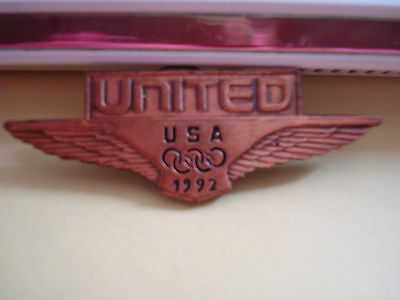 United Airlines 1992 Barcelona Olympic Games pin