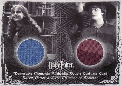 Harry Potter Memorable Moments 2 Hermione & Harry's C8 Dual Costume Card
