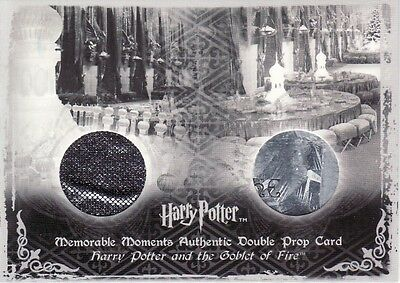Harry Potter Memorable Moments 2 Yule Ball Drapes & programs P8 Prop Card