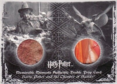 Harry Potter Memorable Moments 2 Mandrake & Fawkes Feathers P4 Prop Card 260/260
