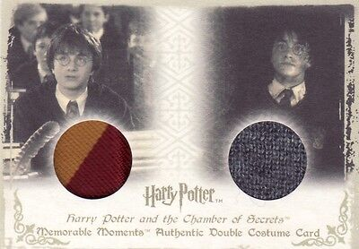 Harry Potter Memorable Moments 1 Harry Potter's DC3 Dual Costume Card