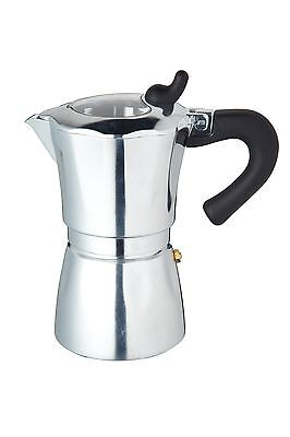 KitchenCraft Italian Collection Six Cup Espresso Coffee Maker
