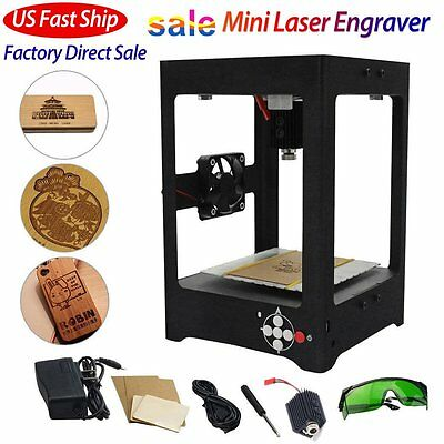 1000mW USB Laser Engraver Printer DIY Logo Mark Engraving Machine Super Carver H