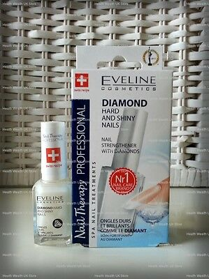 EVELINE Diamond Hard and Shiny Nails Nail Strenghtener 12ml Professional therapy