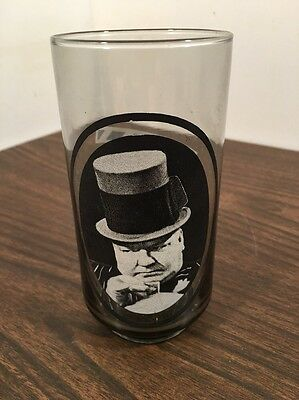 Vintage 1979 Arby's Collector's Series #6 W. C. Fields Drinking Glass