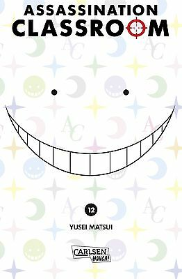 Assassination Classroom 12 - Deutsch - Carlsen Manga - NEUWARE