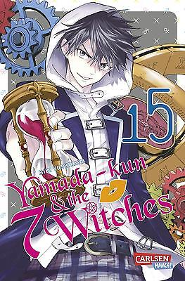 Yamada-kun and the seven Witches 15 - Deutsch - Carlsen Manga - NEUWARE