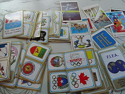 Panini Olympic Games  Munchen 72 - lot of 70 stickers - recuperation