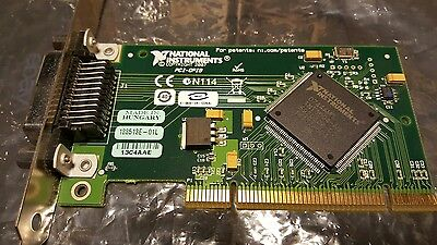 National Instruments NI PCI-GPIB 188513E-01L Interface Adapter Card - DATED 2007