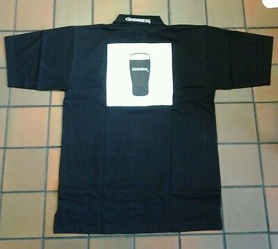 Guinness short sleeved rugby top new size large
