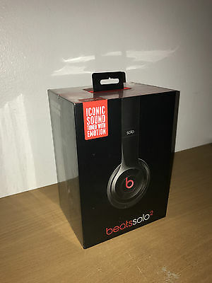 Beats by Dr. Dre Solo2  Headphones - Black ~ *BRAND NEW SEALED IN BOX*