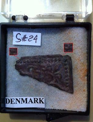 Part Of Viking  Buckle With 2 Dragon Head-Very Rare(Found In Denmark)
