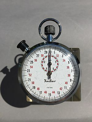 Hanhart Stoppuhr  Pinlever 7 Jewels nr.122.0401-00 -STOP WATCH