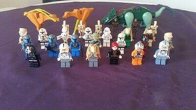 Joblot of 29 Star Wars Lego Minifigures