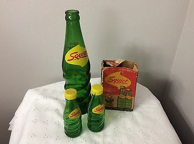 Vintage Squirt Bottle And Salt And Pepper Shakers With Box