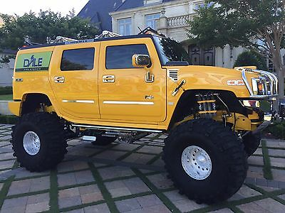 2003 Hummer H2 Base Sport Utility 4-Door EMA HIGHLY CUSTOMIZED SHOW TRUCK -INSANE MONEY SPENT ON THIS OVER $250K REDUCED