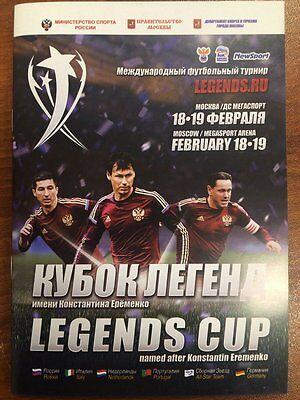 Legends Cup 18-19 February 2017 Russia Germany Italy Portugal Netherlands