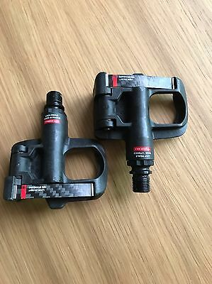 Look Keo Blade Carbon Ti Titanium Road Bike Pedals 94g