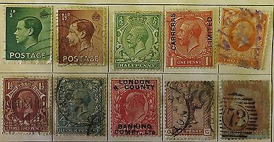 George Edward And Victoria Stamps