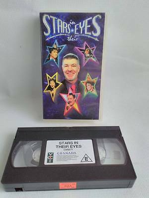Stars In Their Eyes Video VHS TAPE ITV Granada TV Television Show Collectable