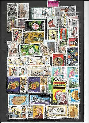 timbres anciennes colonies francaises