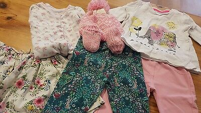 girls bundle of girls clothes aged 9-12 months