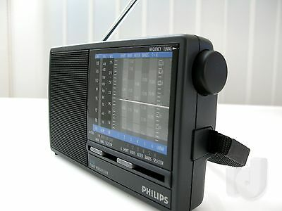 PHILIPS Compact 9 Band Radio Weltempfänger World Receiver ~ 1980 ...