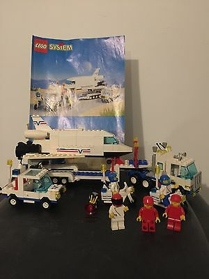 Lego 6346 Rare Vintage Space Shuttle Launching Crew Complete With Instructions