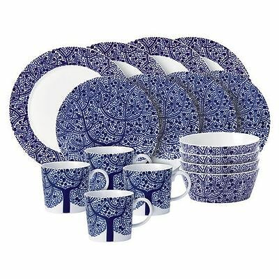 NEW ROYAL DOULTON Fable Accent Tree 16-Piece Dinner Set- lowest price!