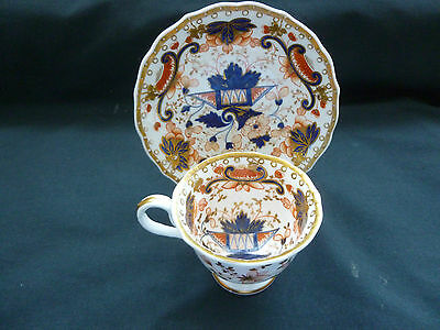 Porcelain coffee cup and saucer c1825-1830