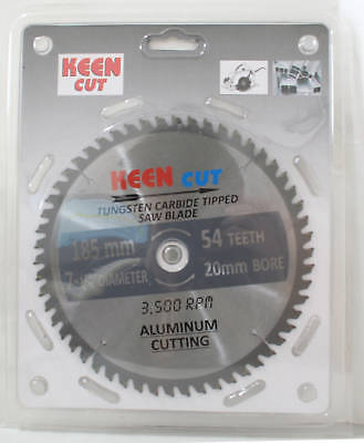"""Pack of 10, Keen #63351, 7.25""""(185mm) ALUMINUM Cutting Saw tct Blades"""