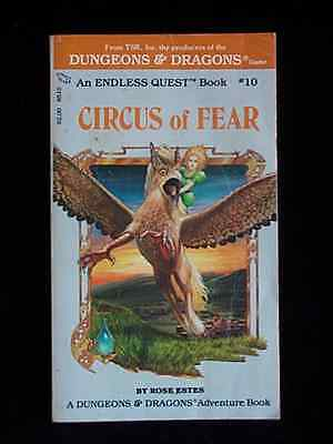Endless Quest: Circus of Fear (A Dungeons and Dragons Adventure Book)