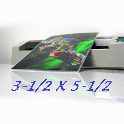 3 x 5 Laminating Pouches Sheets Photo 3.5 x 5.5  5 Mil (200 Pack)