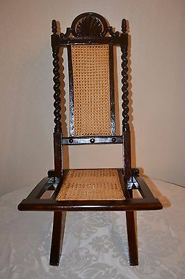 19th Century Military Campaign Chair c1870