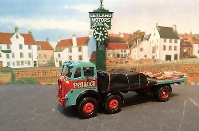 A Corgi Code 3 1:50 Scale Model Truck In The Livery Of Pollock Of Musselburgh.