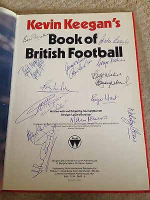 Rare England World Cup 1966 Autographs all 11 Including Signed George best.
