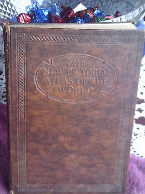 New Pictorial Atlas of the World Hardback Book