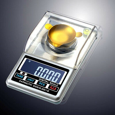 UK 0.001g 30 50g Digital Diamond Gold Jewelry Weighing Electronic Scale Reliable