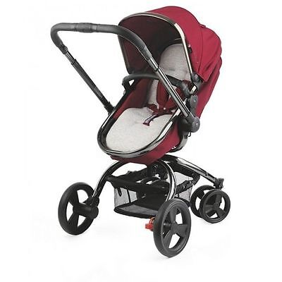 Mothercare Orb Pram and Pushchair - Berry Red