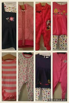 Baby Girl Clothes Bundle 0 to 3 months