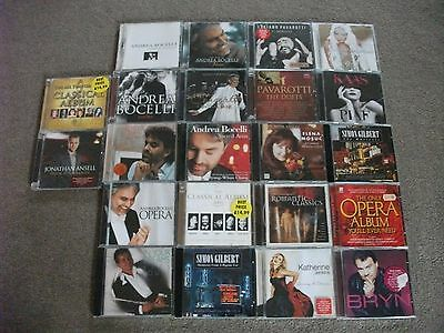 Job Lot of 22 Opera /Classical Music CD's