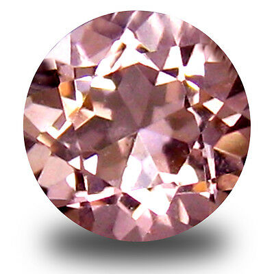 0.14 ct Lovely Round Cut (5 x 4 mm) Pink Color Morganite Gemstone