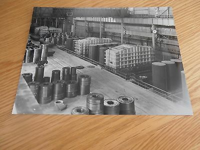 Original 1950s photo, Coil Annealing Furnaces, SCOW, Abbey Works, Port Talbot