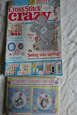 Cross Stitch Crazy magazine issue 213 including Free Gift