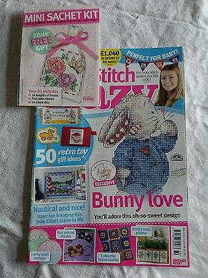 Cross Stitch Crazy magazine issue198 including Free Gift