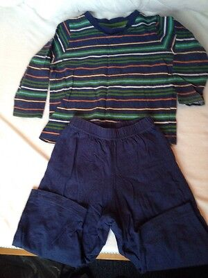 Boys baby George Blue Stripy Age 12-18 Months