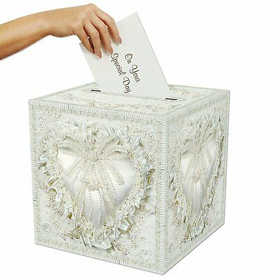 Wedding Gift Box Card Money Holder Bridal Envelope Collection Accessories