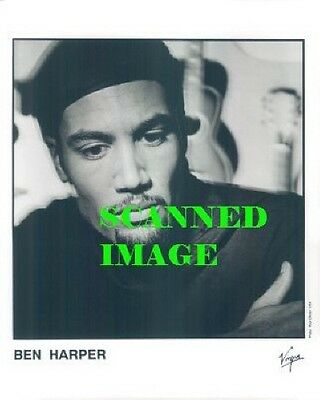 Press Photo: BEN HARPER 8x10 B&W 1994