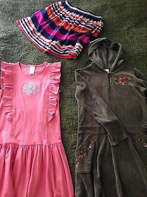Girls Gymboree Size 8 LOT  (2) dresses & (1) skirt EUC