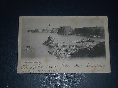 Postcard Dunbar Castle From The West Postmarked 1903